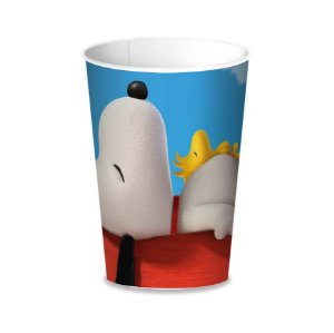 Copo Snoopy De Papel 200ML