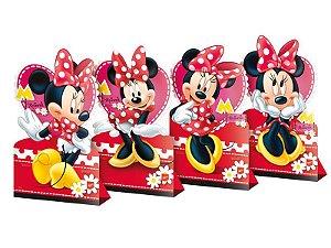 Decoração Mesa De Festa Red Minnie C/04