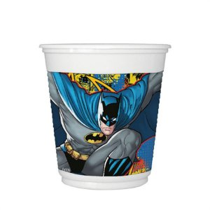 Copo Batman New Plastico 200ml C\8