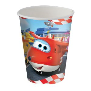 Copo Super Wings  180ml De Papel c\8