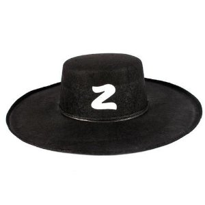 Chapéu Zorro Para Fantasias