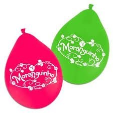 Balão Moranguinho n9 c\25