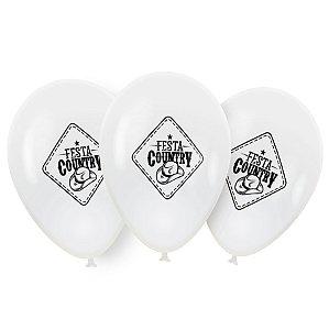 Balão / Bexigas Festcolor Nº9 | Festa Country | C\25