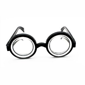 Óculos Nerd Specs Com Lente de Acrílico
