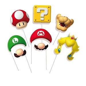 Plaquinha Super Mario c\8