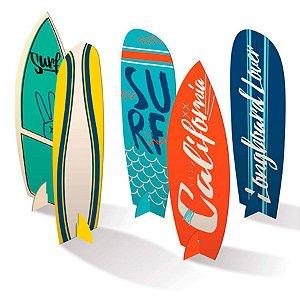 Decoração Mesa De Festa Surf C/4