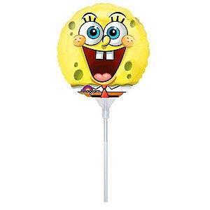 Balão Metalizado Bob Esponja Air Filled