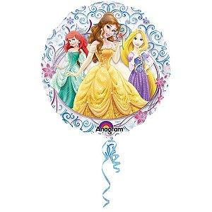 Balão Metalizado Jumbo Transparente Princesas