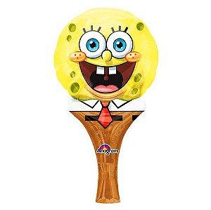 Balão Metalizado Sopre-Brinque Bob Esponja