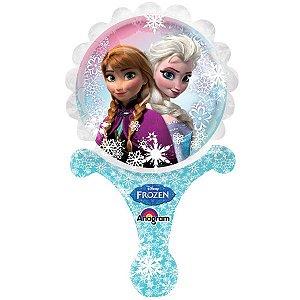 Balão Metalizado Sopre E Brinque Frozen
