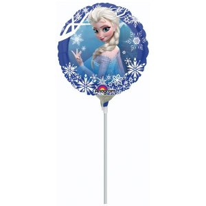 """Balão Metalizado 9"""" Frozen"""