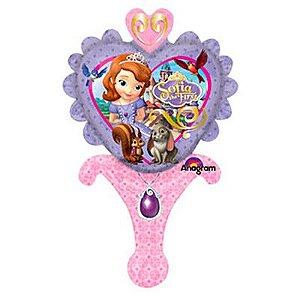 Balão Metalizado Sopre-Brinque Princesa Sofia