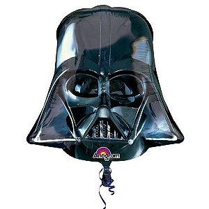 Balão Metalizado Supershape Star Wars Darth Vader