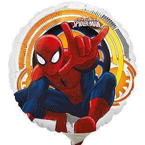 Balão Metalizado Air-Filled Homem Aranha Ultimate 9''
