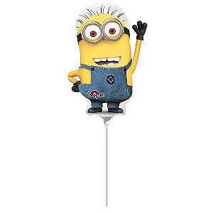 Balão Metalizado Minishape Minion