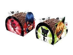 Porta Forminha Miraculous Ladybug C/50