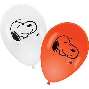 Balão / Bexiga Festcolor Nº9 | Snoopy | C/25