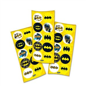 Cartela de Adesivos Batman C/30