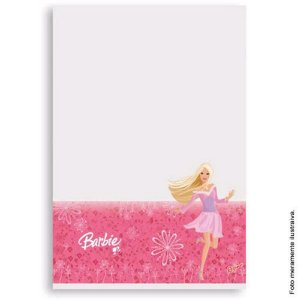 Toalha de mesa Barbie Plastico