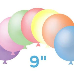 Balão / Bexiga Happy Day Nº9 | Neon Citrus Sortido | C/30