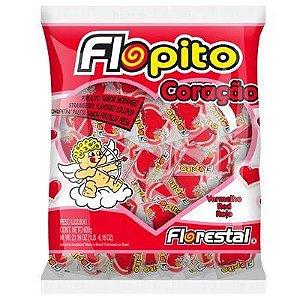 Pirulito Coração Flopito 500g C/50