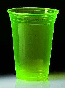 Copo Neon Balada Verde Limão - 300ml C/25