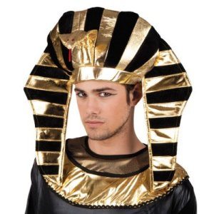 Chapéu Faraó Egípcio Fantasia Preto