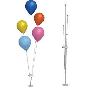 Suporte Para Balões Pequeno   5 Varetas   40cm