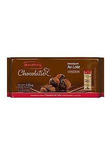 Chocolatier Barra Ao Leite Mavalerio 1,01Kg