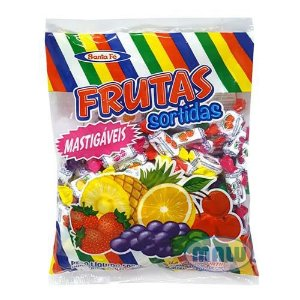 Bala Mastigáveis Frutas Sortidas | 500g