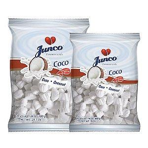Bala De Coco Junco 400g