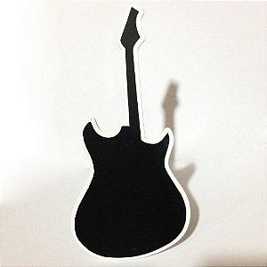 Placa Guitarra Em Madeira C/06