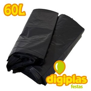 Saco De Lixo Resistente - 60 Litros 1kg