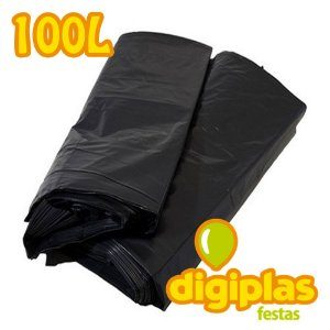 Saco Para Lixo Resistente - 100 Litros 1kg