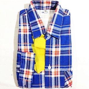Camisa Caipira Flanela Infantil