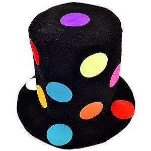 Cartola Bolas Coloridas Luxo Para Festas
