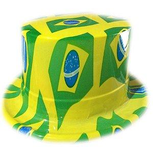 Cartola Brasil Plástico