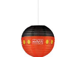 Lanterna De Papel Redonda Mickey 20cm