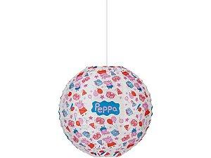 Lanterna De Papel Redonda Peppa Pig 20cm