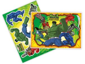 Kit Decorativo Hulk