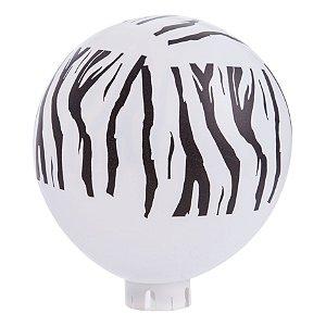 Balão / Bexiga Happy Day Nº11 | Listras de Zebra | C/25