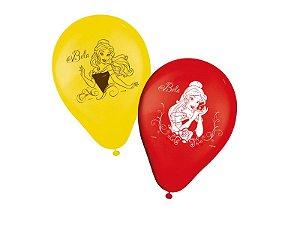 Balão N9 Princesa Bela C/25