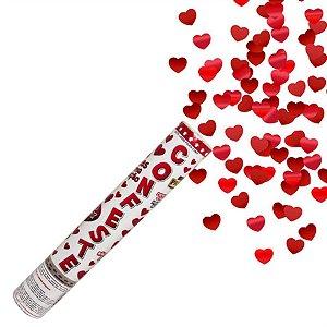 Lança Confete em Forma de Coração 30cm Mundo Bizarro