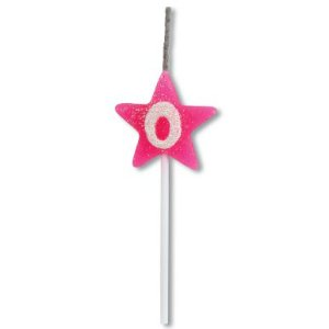 Vela Estrela Rosa Nº0 Alchester