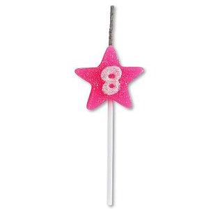 Vela Estrela Rosa Nº8 Alchester