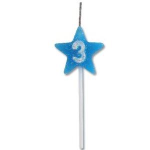 Vela Estrela Azul Nº3 Alchester