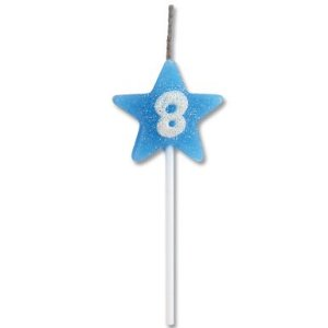 Vela Estrela Azul Nº8 Alchester