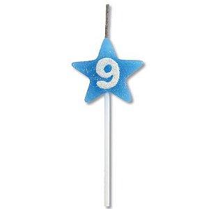 Vela Estrela Azul Nº9 Alchester