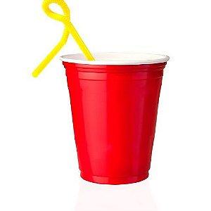 200 Unidades Red Cup Copos Americanos, Copo Vermelho | 400ml