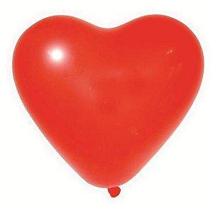 Balão / Bexiga Happy Day Nº11 | Coração | C/12